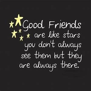Good Friends are like STARS - Friendship Quotes ~ English ...