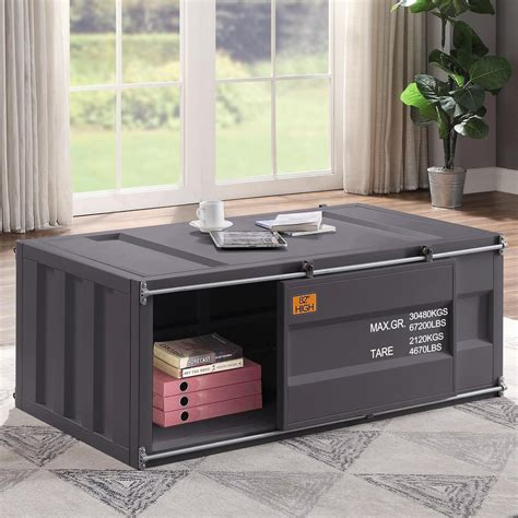acme furniture cargo  coffee table  container