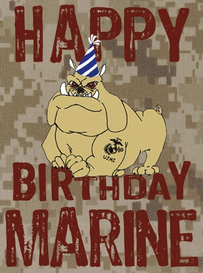 card shop marine corps birthday package