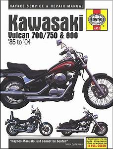 Kawasaki Vulcan  Classic  Drifter Repair Manual 1985