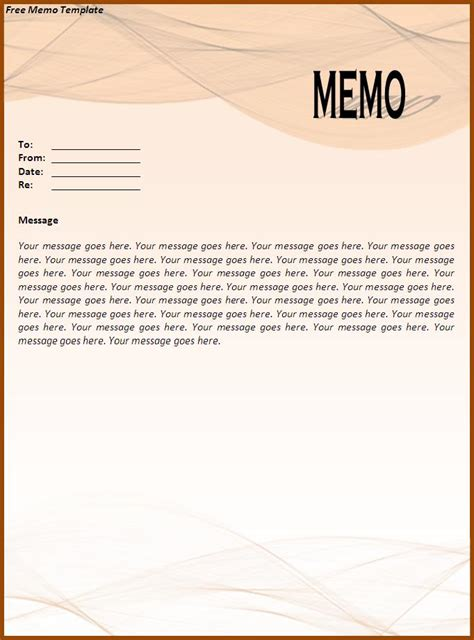 elegant memo template formal memo template ideas for microsoft word documents
