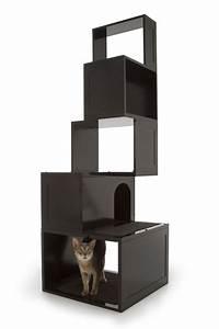 Arbre A Chat Moderne : 5 types de mobilier pour chat qui s adaptent a votre d coration ~ Melissatoandfro.com Idées de Décoration