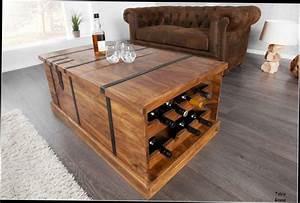 Table De Salon Bois Massif Design En Image