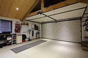 Garage 2 Voitures : dimension d 39 un garage pour 1 ou 2 voitures ~ Melissatoandfro.com Idées de Décoration