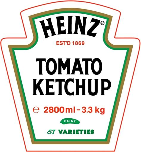 Heinz tomato ketchup Free vector in Encapsulated ...