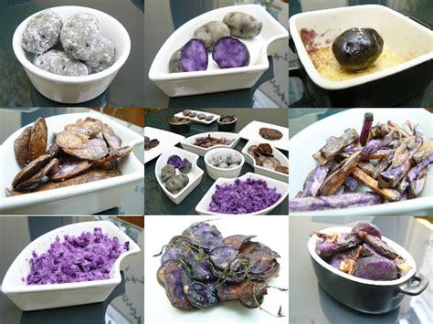 comment cuisiner des pommes de terre comment cuisiner la pomme de terre violette vitelotte