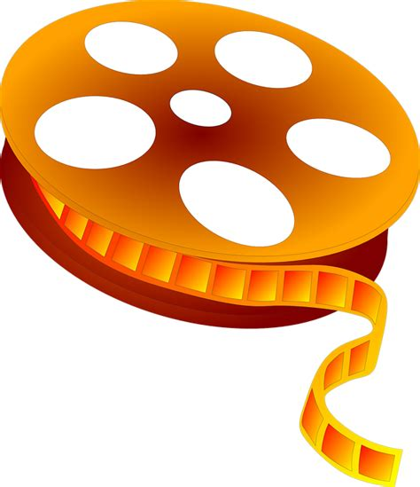 Reel Clipart Free Vector Graphic Reel Cinema