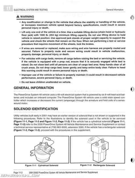 service manual how to work on cars 2002 kia optima engine control jcdillon110 2002 kia 2001 2002 club car powerdrive system 48 maintenance and service manual supplement