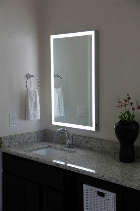 Mirror Lights For Bathrooms by 20 Inspirations Bathroom Wall Mirrors With Lights Mirror