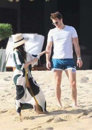 Camila Cabello Bikini With Matthew Hussey The Beach