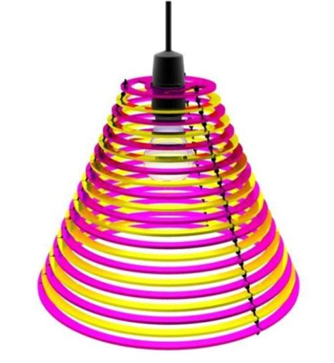 Colorful And Cool Lampshades From Cmyk Design  Design
