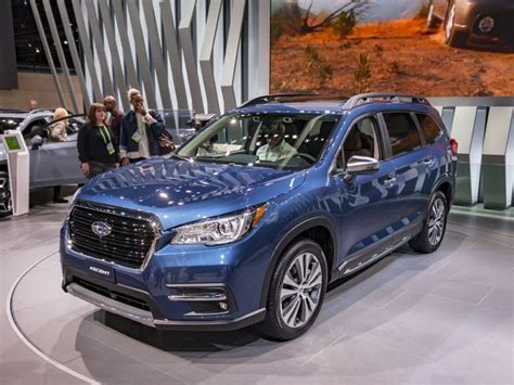 2019 Subaru Ascent Is The New 8seater Suv (video)  Suv Trend