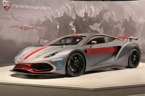 Poland's Arrinera Hussarya Supercar Makes Auto Show Debut