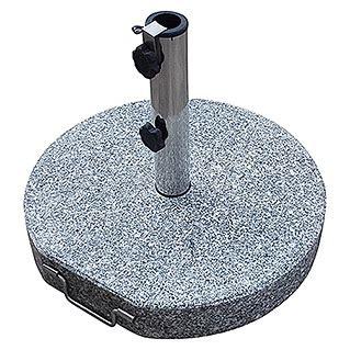 granitschirmst 228 nder 25 kg 45 x 28 cm geeignet f 252 r rohrdurchmesser 38 48 mm seitlich
