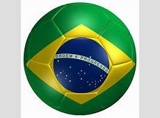 Soccer Ball Brazil Flag 3D Model Game ready max 3ds fbx