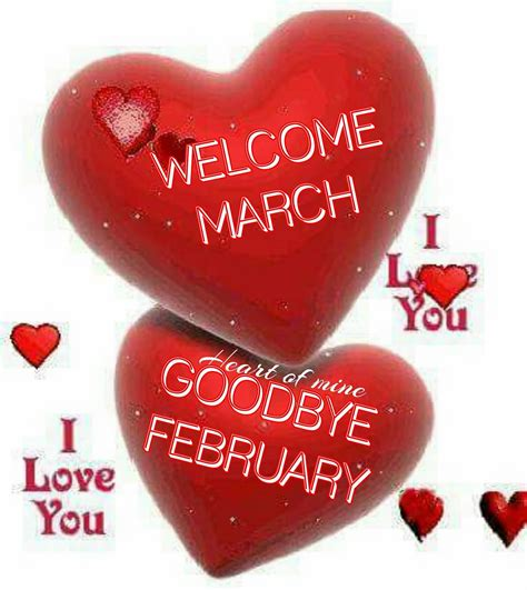 Welcome March Goodbye February Pictures, Photos, and ...