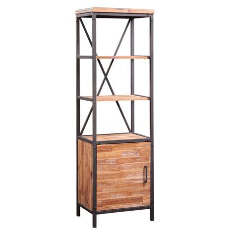 Modern Rustic Etagere Bookshelf