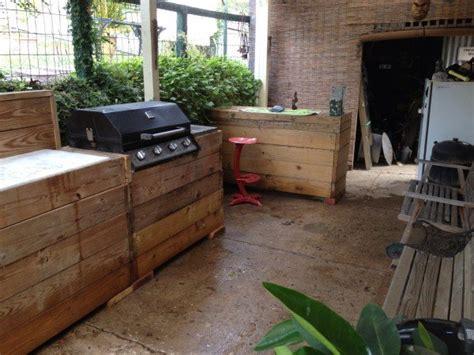 outdoor kitchen   pallets diy pallet ideas