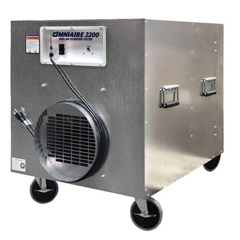 omnitec omniaire  negative air machine inline