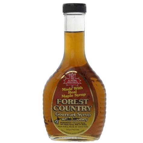 country kitchen maple syrup maple hollow maple syrup forest country w honey one pint 6099