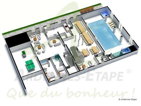 organisation cuisine professionnelle villa de luxe accès pmr avec piscine pour 48 pers à louer
