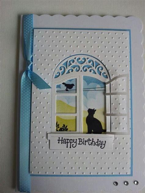 clarity stamps embossing folders  spellbinders windows