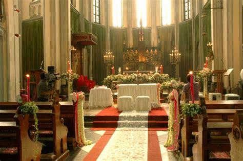 dekorasi  gereja wedding decoration  surabaya