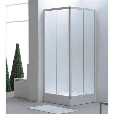box doccia rettangolare  cm cristallo  mm vendita