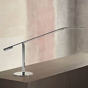 koncept gen 3 equo warm light led desk lamp in chrome With koncept equo floor lamp chrome