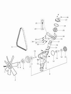Cooling System Parts For 6525 Mahindra Tractor