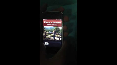 how to unlock a disabled iphone 6 how to unlock a disabled iphone youtube How T
