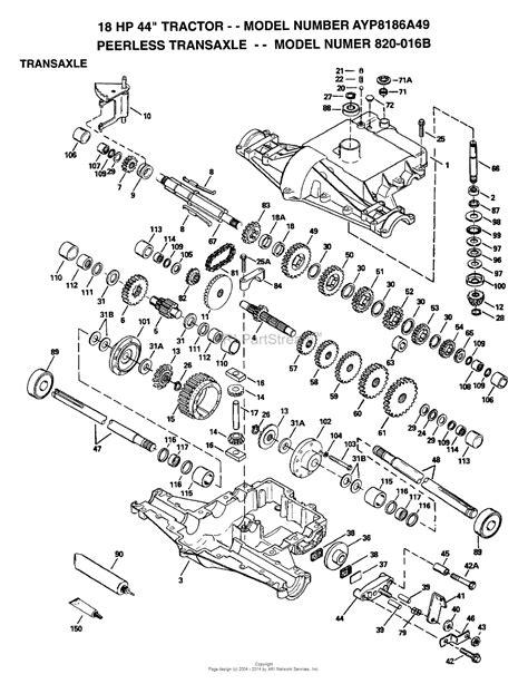 Ayp Electrolux Aypa Parts Diagram For Transaxle