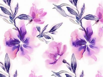 Floral Pattern Seamless Watercolor Dribbble