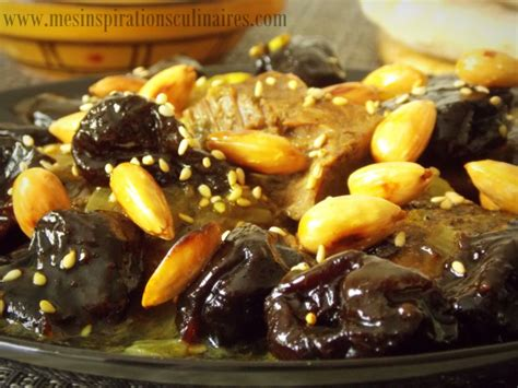 tajine hlou aux pruneaux plat ramadan le cuisine de samar