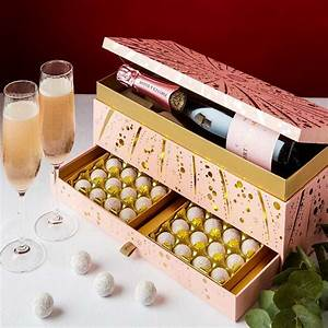 decadent chagne gift boxes chocolate gift box 1
