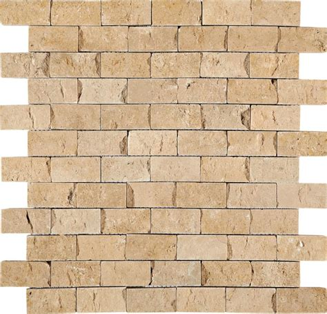 daltile t112sfssle travertine collection 2 x 1 brick