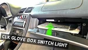 Mercedes Clk W208 Glovebox Glove Box Switch Light Removal