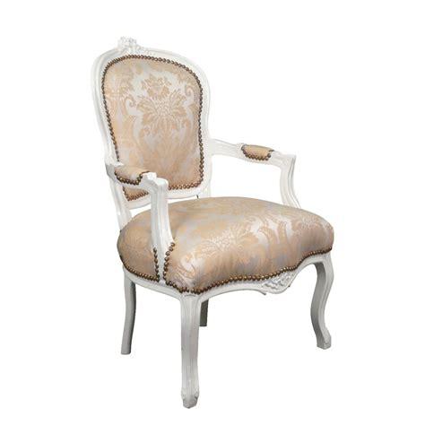 fauteuil louis xv beige meuble louis xv