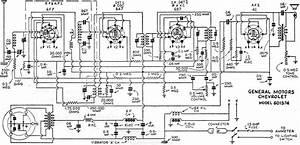 General Motors Chevrolet No  601574 Radio Schematic  June