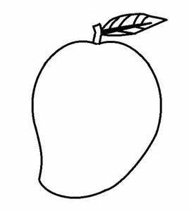 Mango Clipart Black And White | Free download best Mango ...