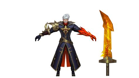 Mobile Legends Alucard Fiery Inferno By Aceyoen On Deviantart