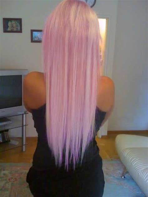 pink blonde hair color hairstyles  haircuts