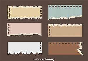Ripped Note Paper Vectors - Download Free Vector Art ...