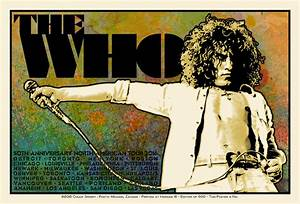 The Who Pete & Roger Diptych 50th Anniversary North ...