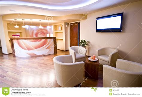 spa waiting room stock image image of empty flat