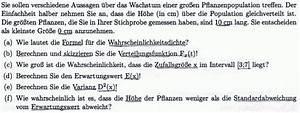 Wahrscheinlichkeitsdichte Berechnen : wahrscheinlichkeit wachstum einer pflanzenpopulation mathelounge ~ Themetempest.com Abrechnung