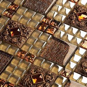 Express Shipping Free Brown Glass Mosaic Tiles For