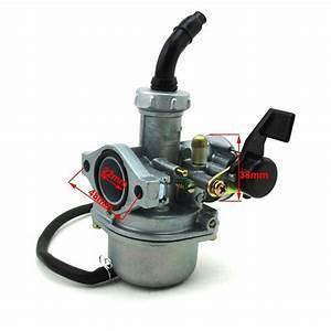 22mm Carburetor Carb 38mm Air Filter For 110cc 125cc Atv