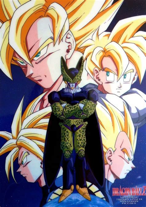 vegeta goku gohan trunks  perfect cell