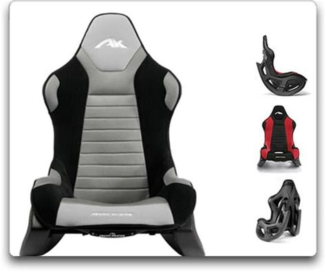 amazon com ak designs ak 100 rocker gaming chair gray